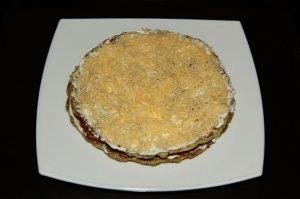 Tort kabachkovyy s syrom i pomidorami. master-klass 4