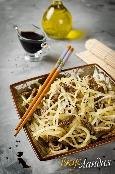 Salaty Kamdi-cha kartofel s govyadinoy 2
