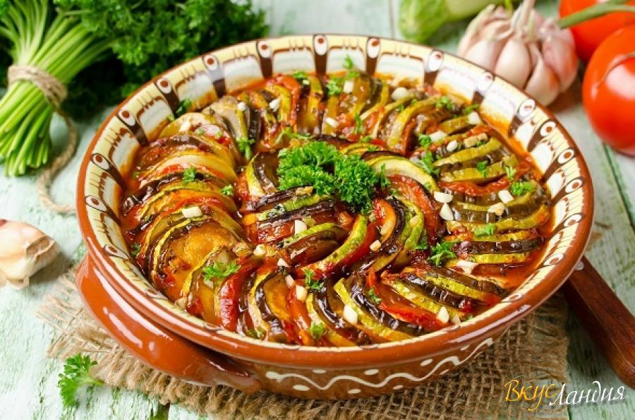баклажаны в духовке рецепт рататуй