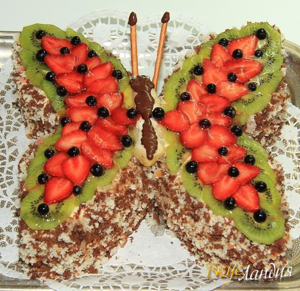Торт Бабочка
