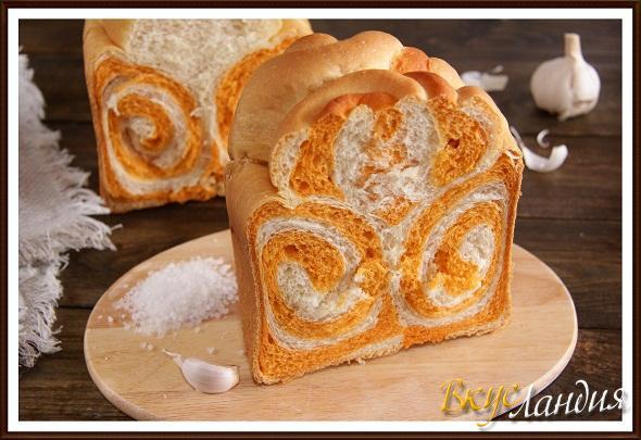 """Хлеб молочный """"Узоры"""""""