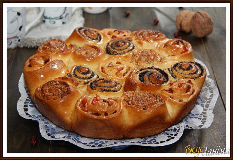 Дрожжевые пирожки с начинкой рецепт фото