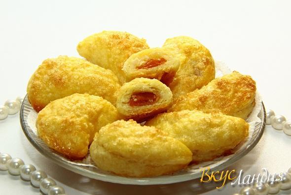 Печенье Творожное с курагой